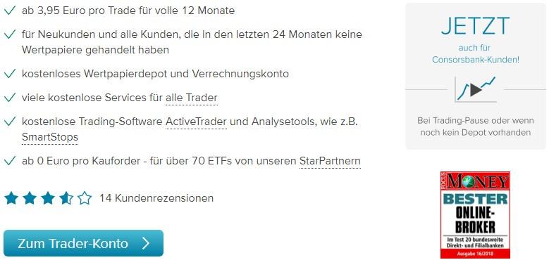 Consorsbank Trading Gebühren
